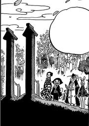 Могилы Педро и Ясуиэ