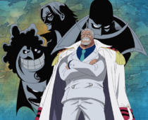 Garp Speaks About The Yonko