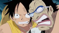Luffy And Galdino