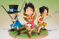 Figuarts Zero Luffy & Ace & Sabo A Promise of Brothers