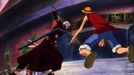 Saga vs Luffy