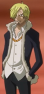 Sanji Second Zou Outfit