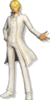 Sanji Wedding Pirate Warriors 4