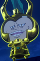 Tanaka con armadura de oro