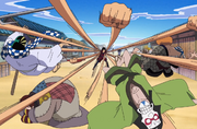 Boss Luffy Historical Special - Luffy Attacks the Clown Family