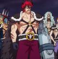 Disfraz de los Piratas de las Bestias de Kid