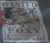 Foxy's Wanted Poster