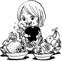 Jewelry Bonney as a Child