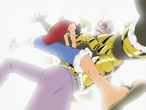 Luffy Menghancurkan Zirah Krieg