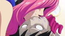 Reiju aspire le venin de Luffy