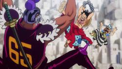 Rufy atterra Daifugo