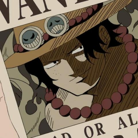 La taglia di Ace quando era capitano dei Pirati di picche