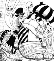 Perona encuentra a Kumashi