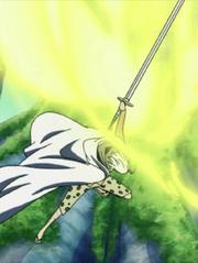 Rayleigh's sword