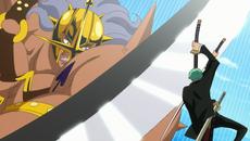 Zoro detiene a Pica