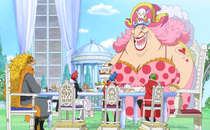 Big Mom and Vinsmoke Family Meeting