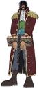 Gol D Roger Anime Concept Art