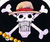 Jolly Roger realista de los de Sombrero de Paja
