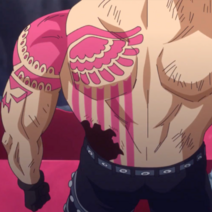 Katakuri's Tattoo Back