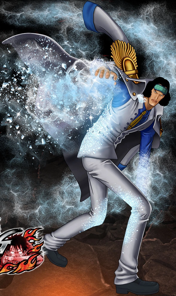 One Piece Burning Blood Pre-Timeskip Aokiji (Artwork)