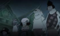Daruma, Dosun and Zeo as Children