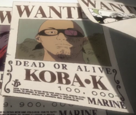 Koba K Anime Infobox