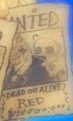 Patrick Redfield's Wanted Poster