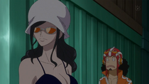 Robin and Usopp Infiltrate Dressrosa Underground