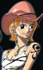 Actual tatuaje de Nami en el manga