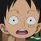 Monkey D. Luffy Enfant Portrait