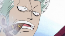 Smoker Shocked to see Luffy Smiling