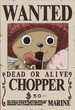 Tony Tony Chopper's Wanted Poster