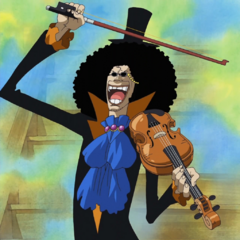 Brook a quarant'anni quando era in vita