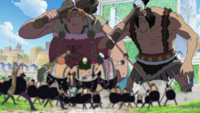 Franky Family and Giants