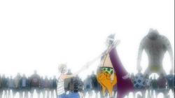 Luffy and Foxy