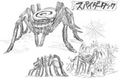 Spider Tank Concept Art
