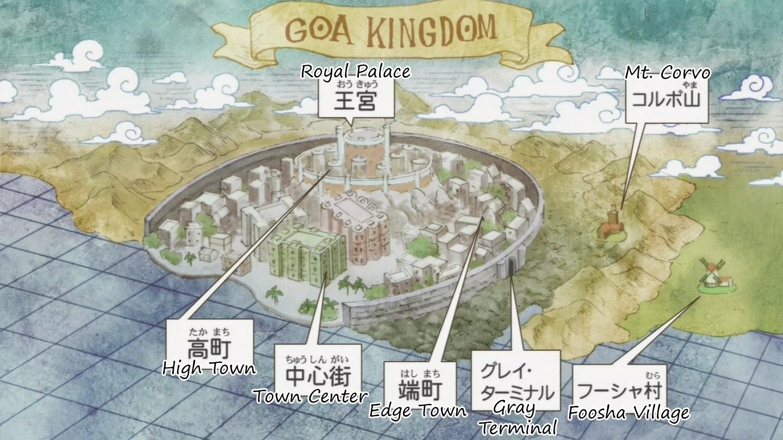 Image - Goa Kingdom Map.png | Wikia One Piece | FANDOM powered by Wikia