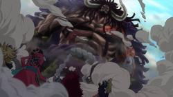 Kaido vs Alleanza Kidd