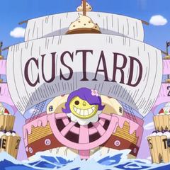 La nave di Custard