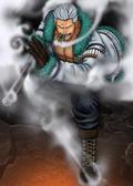 One Piece Burning Blood Vice Admiral Smoker (Artwork)