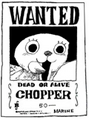 Wanted Chopper 50