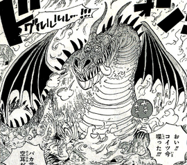 Dragón Número Trece Manga Infobox