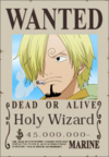 Holy Wizard Wanted Poster
