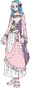 Nefertari Vivi Anime Concept Art