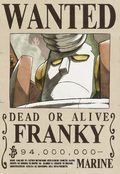 Actual cartel de Franky