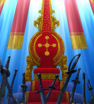 Пустой трон