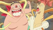 Manboshi and Ryuboshi Try to Cheer Shirahoshi Up