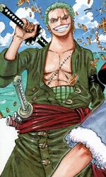 Roronoa Zoro Manga Post Timeskip Infobox