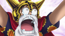 Luffy's Reaction to Meeting Sabo