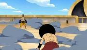 Luffy vs foxy